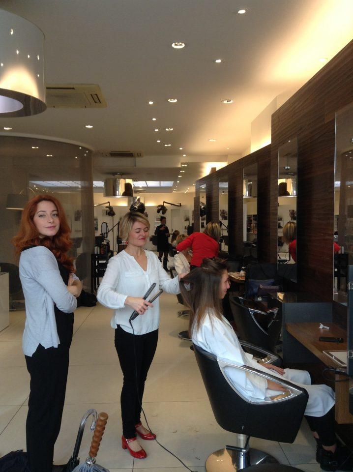 Off séance photos au Salon Marc Thouvard coiffure à Brest